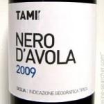 Tami 2009 Nero D'Avola